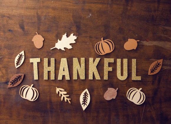 I'm Very Thankful for What I Once Was Unthankful