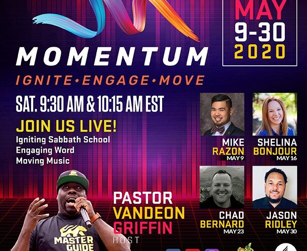 """NAD Youth and Young Adult Ministries Provide """"Momentum"""" for Online Church & Sabbath School"""